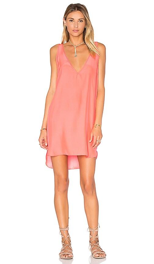 Amanda Uprichard Vita Dress in Coral