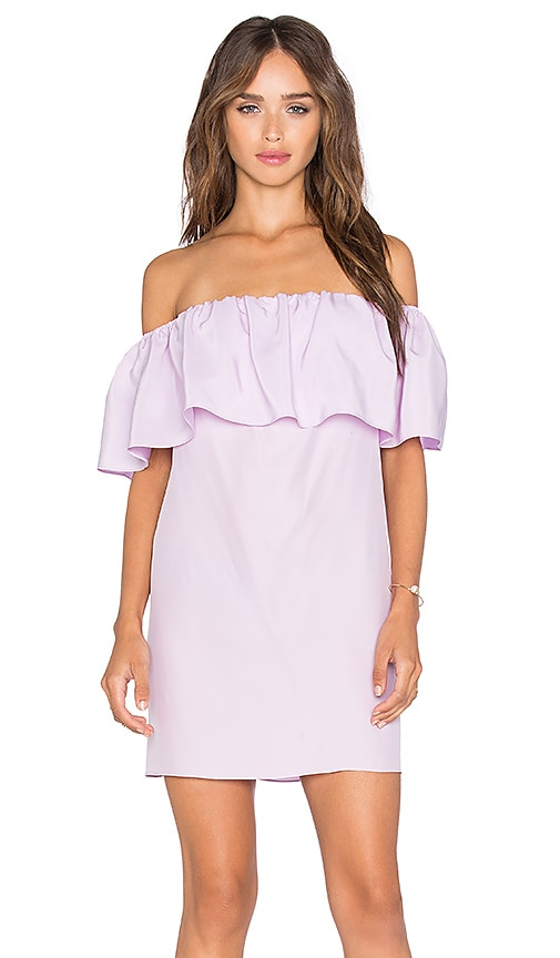 Amanda Uprichard Kiara Dress in Lavender