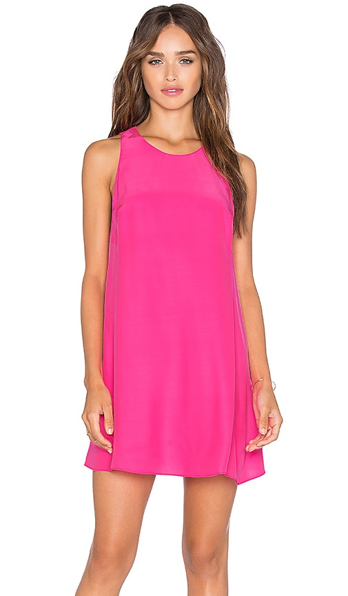 Amanda Uprichard Sleeveless Winthrop Dress in Pink