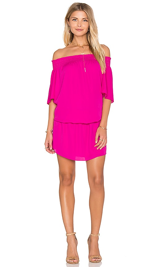 Amanda Uprichard Cleo Dress in Pink