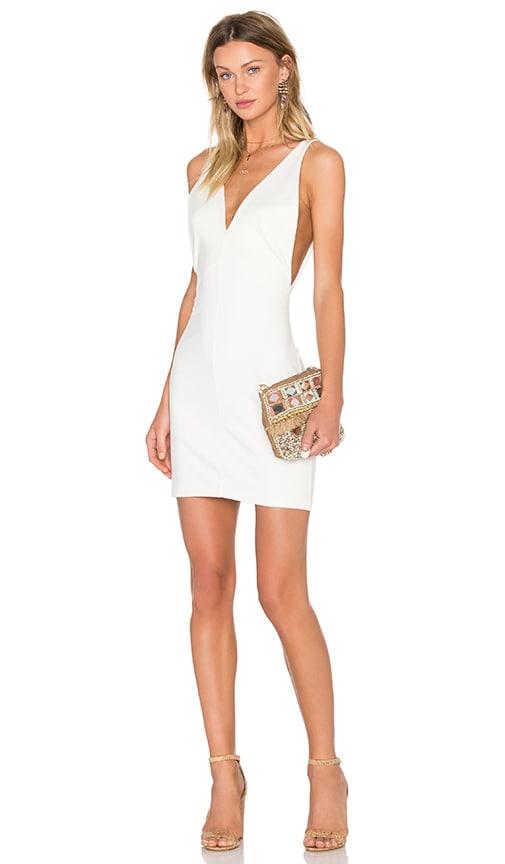 Amanda Uprichard Portsmouth Dress in Ivory