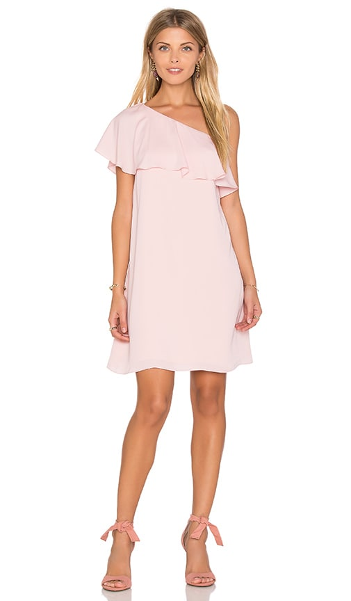 Amanda Uprichard Zoe Dress in Pink