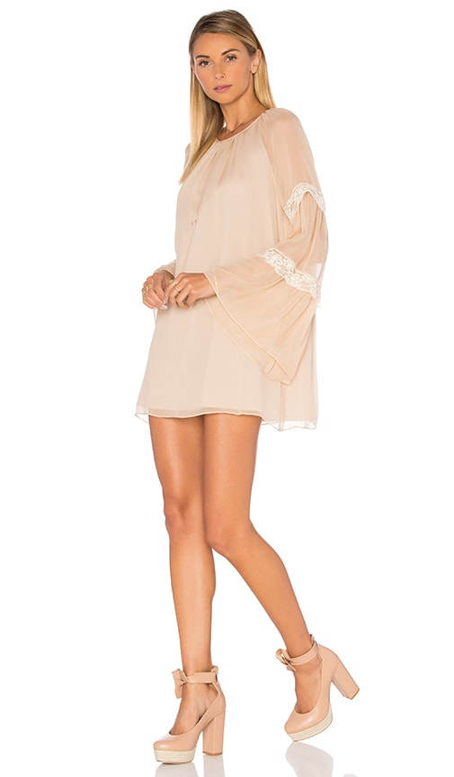 Amanda Uprichard Noel Dress in Beige