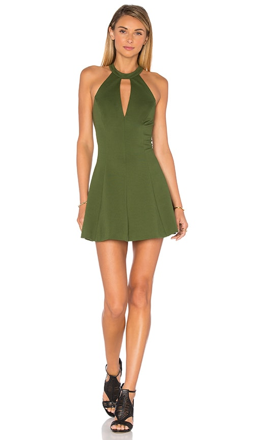 Amanda Uprichard X REVOLVE Jo Dress in Green