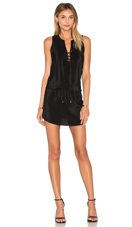 Amanda Uprichard Michaela Dress in Black