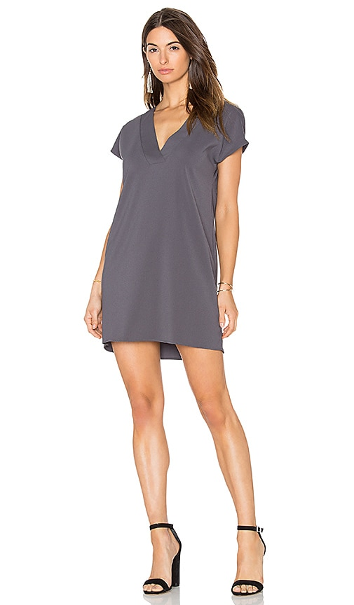 Amanda Uprichard Kennedy Dress in Gray