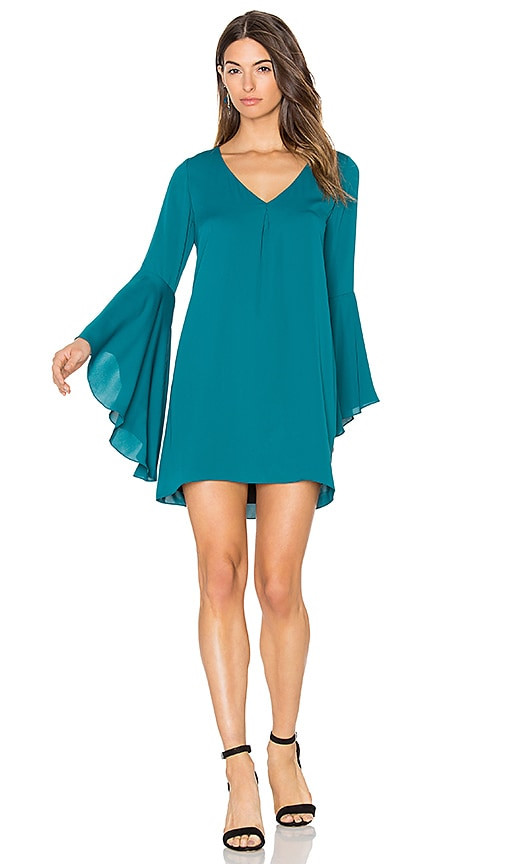 Amanda Uprichard Jean Dress in Teal