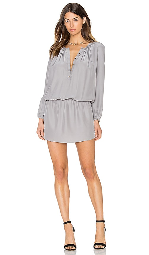 Amanda Uprichard Sam Dress in Gray