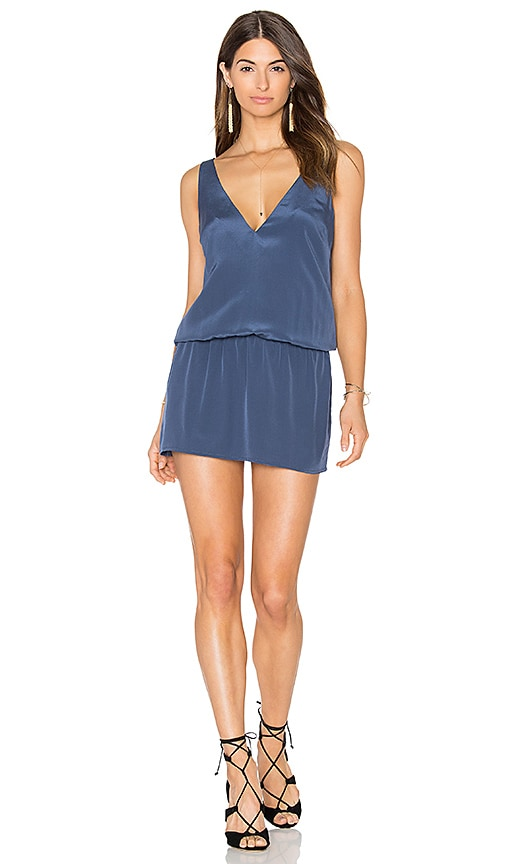 Amanda Uprichard Adelle Dress in Blue