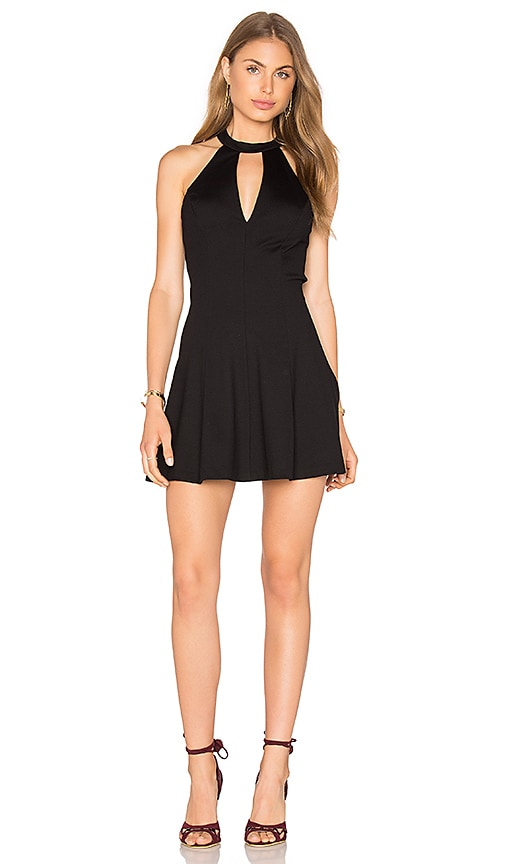 Amanda Uprichard X REVOLVE Jo Dress in Black