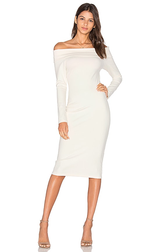 Amanda Uprichard Astaire Dress in Ivory