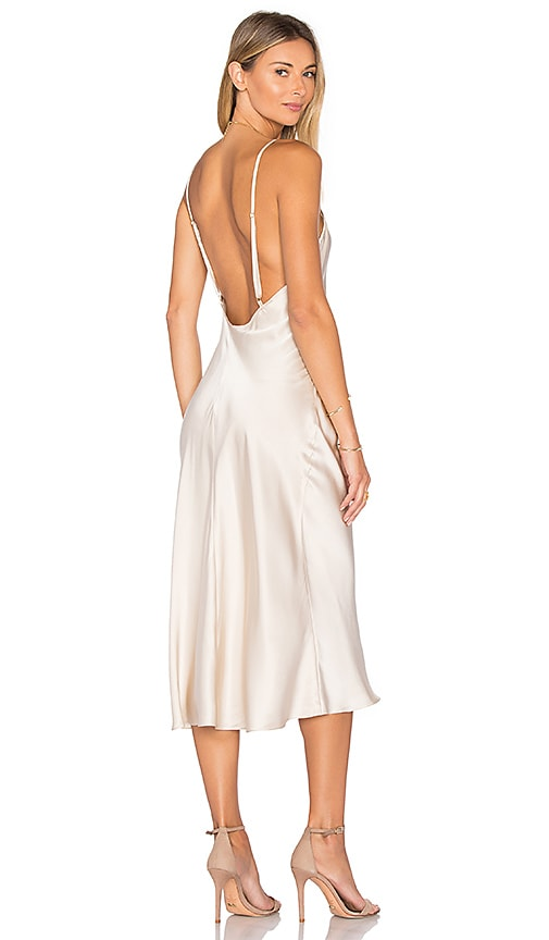 Amanda Uprichard x REVOLVE Slip Dress in Blush