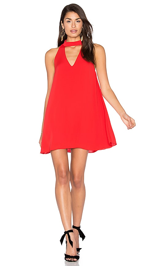 Amanda Uprichard Cassia Dress in Red