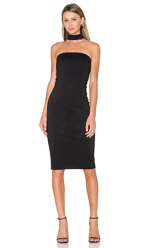 Amanda Uprichard Kimora Dress in Black
