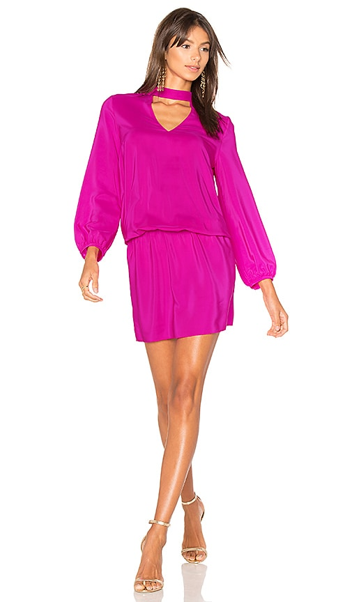 Amanda Uprichard Amaretto Dress in Fuchsia
