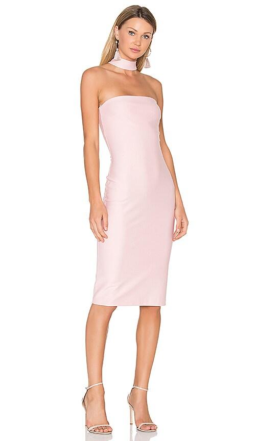 Amanda Uprichard Kimora Dress in Pink