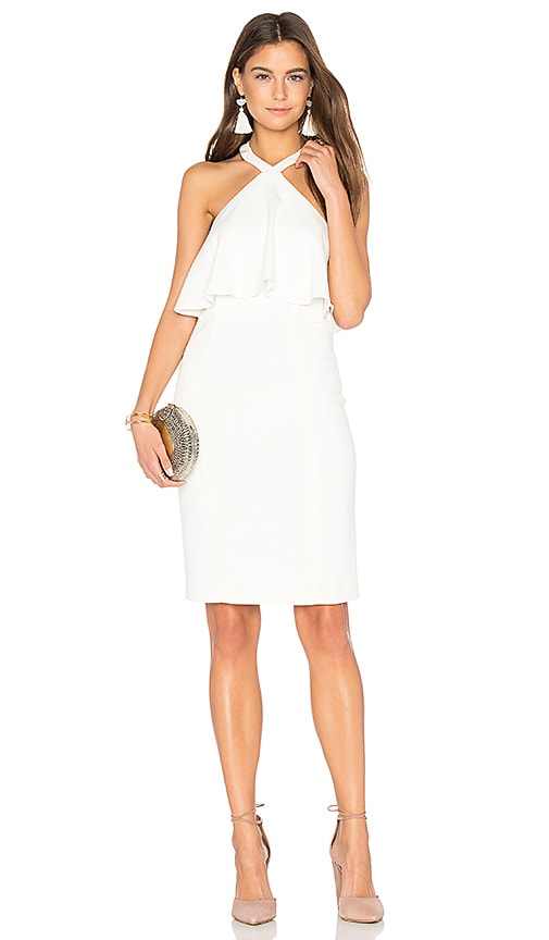 Amanda Uprichard Piazza Dress in Ivory
