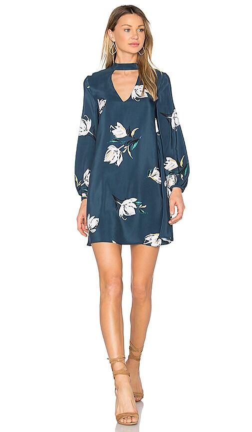Amanda Uprichard Isla Mini Dress in Blue
