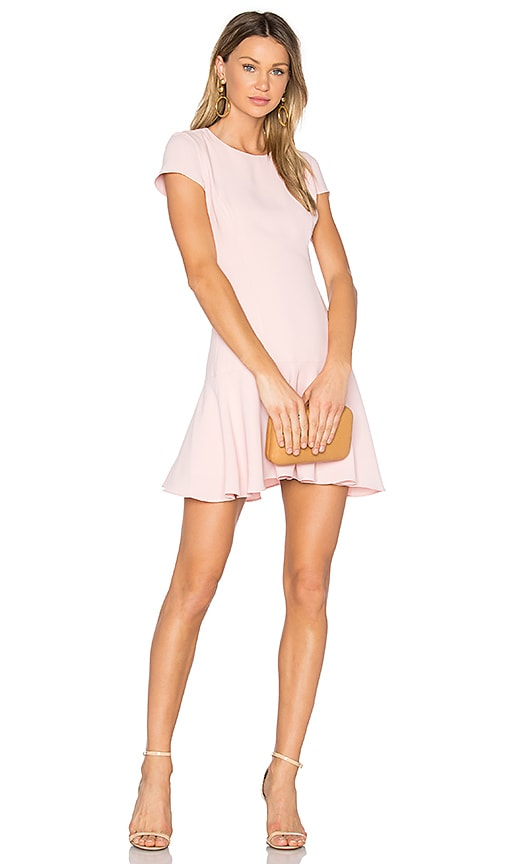 Amanda Uprichard Hudson Dress in Pink