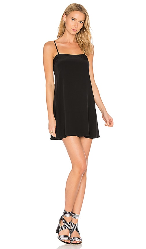 Amanda Uprichard Luciana Dress in Black