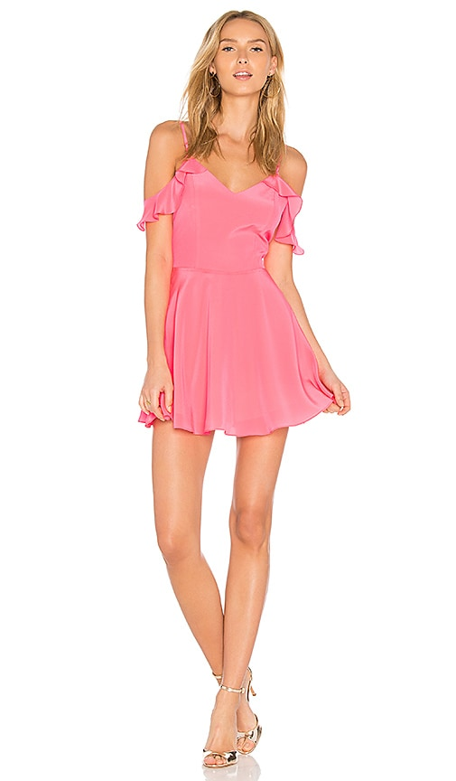 Amanda Uprichard Tate Dress in Pink
