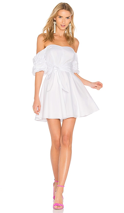 Amanda Uprichard Austin Dress in White