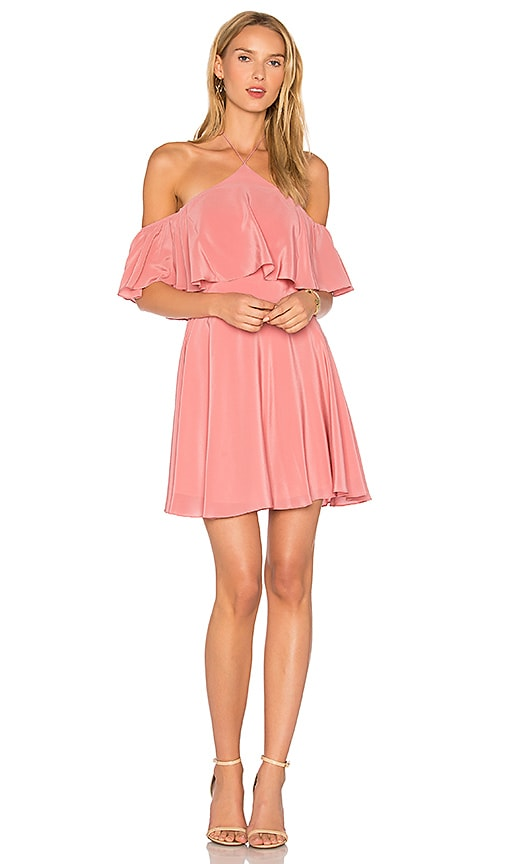 Amanda Uprichard Baja Dress in Mauve
