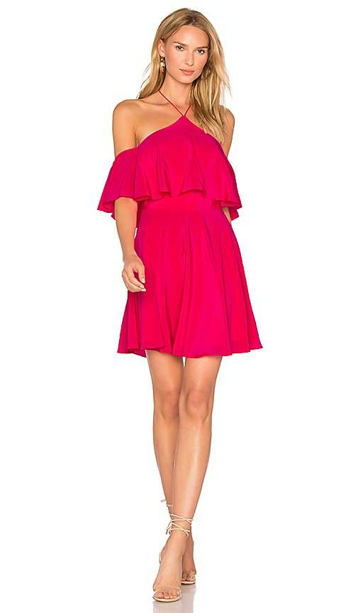 Amanda Uprichard Baja Dress in Pink