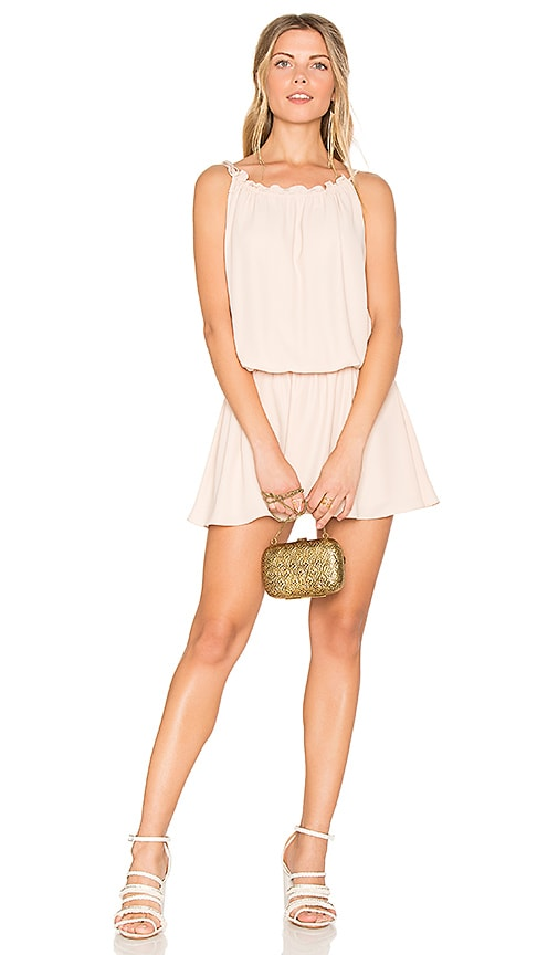 Amanda Uprichard Emlyn Dress in Beige