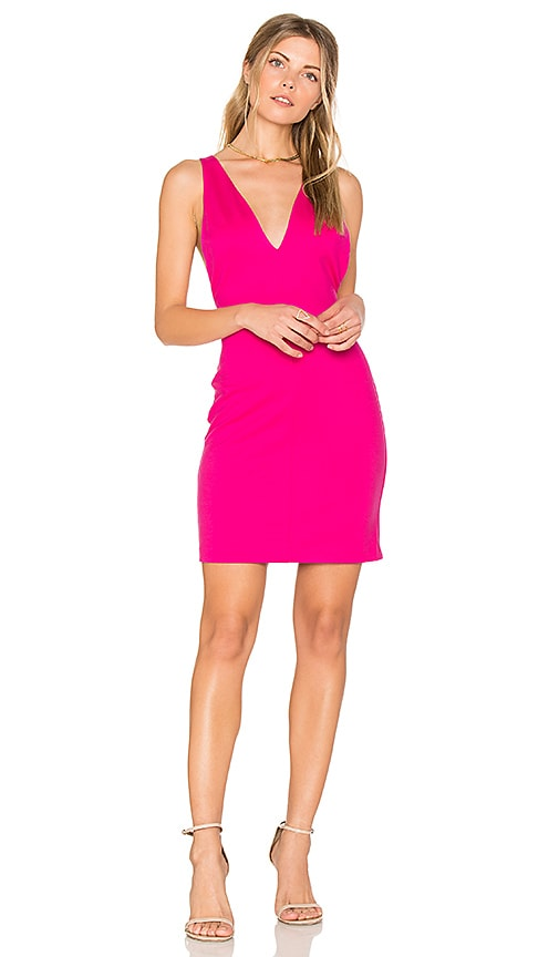 Amanda Uprichard Portsmouth Dress in Pink