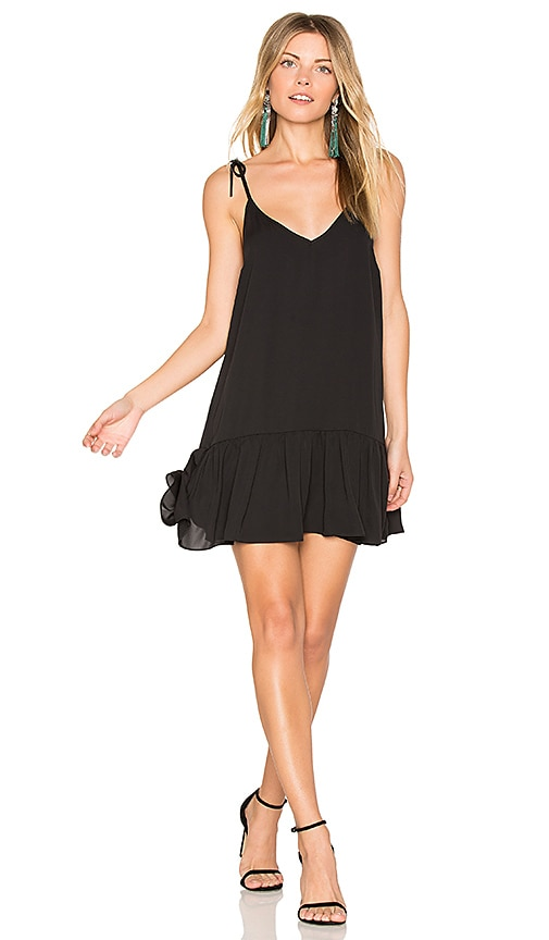 Amanda Uprichard Odessa Dress in Black