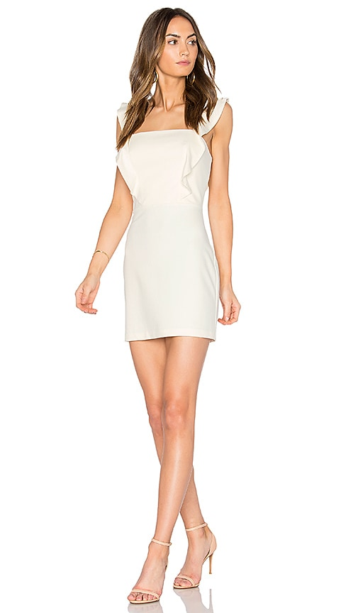 Amanda Uprichard Breeze Dress in Ivory
