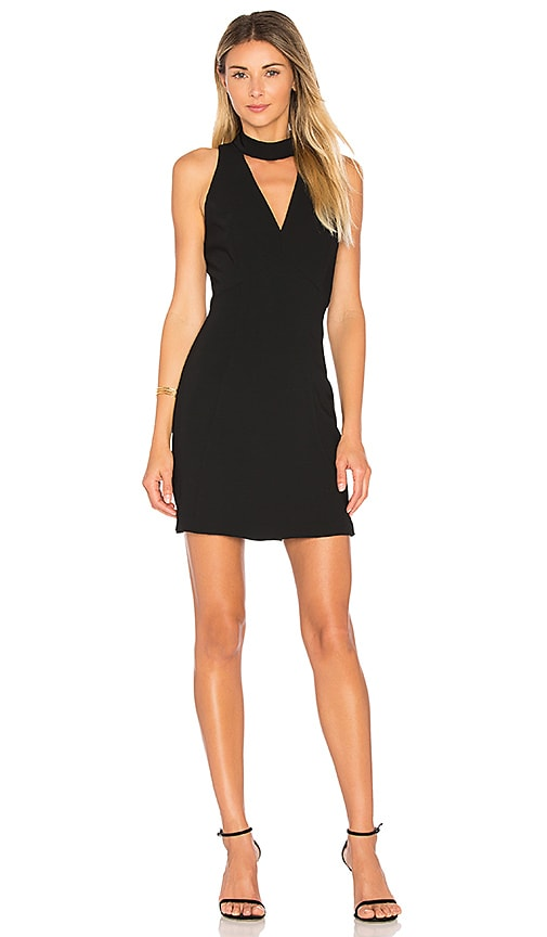 Amanda Uprichard Punch Dress in Black