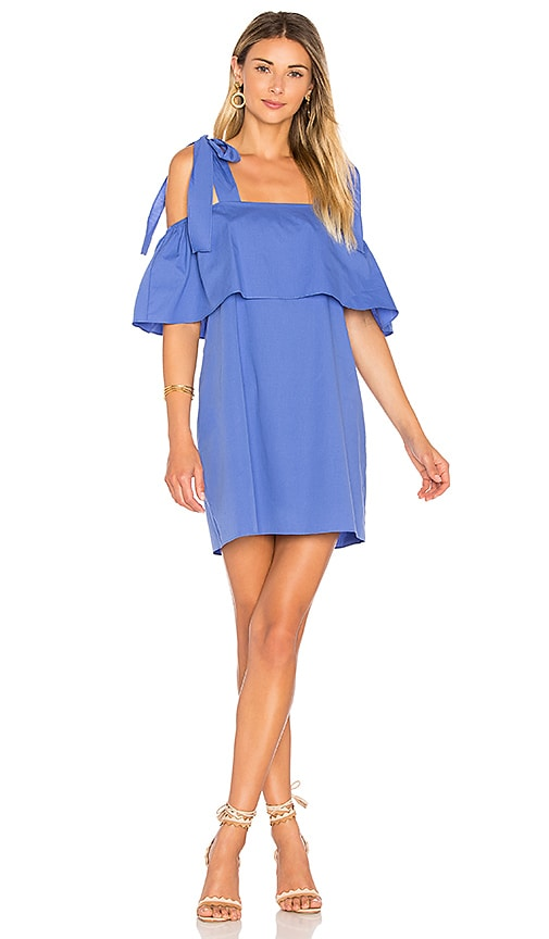 Amanda Uprichard Eli Dress in Blue