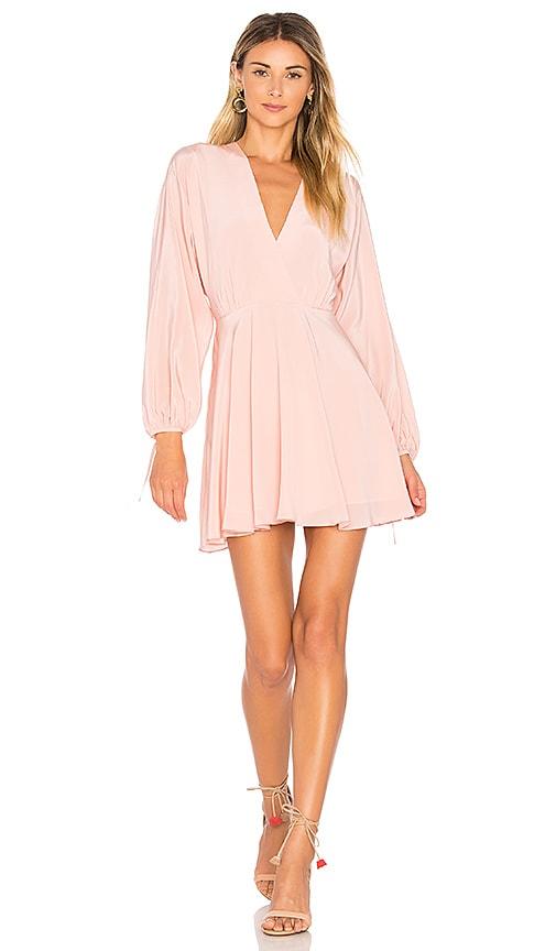 Amanda Uprichard Crystal Dress in Pink
