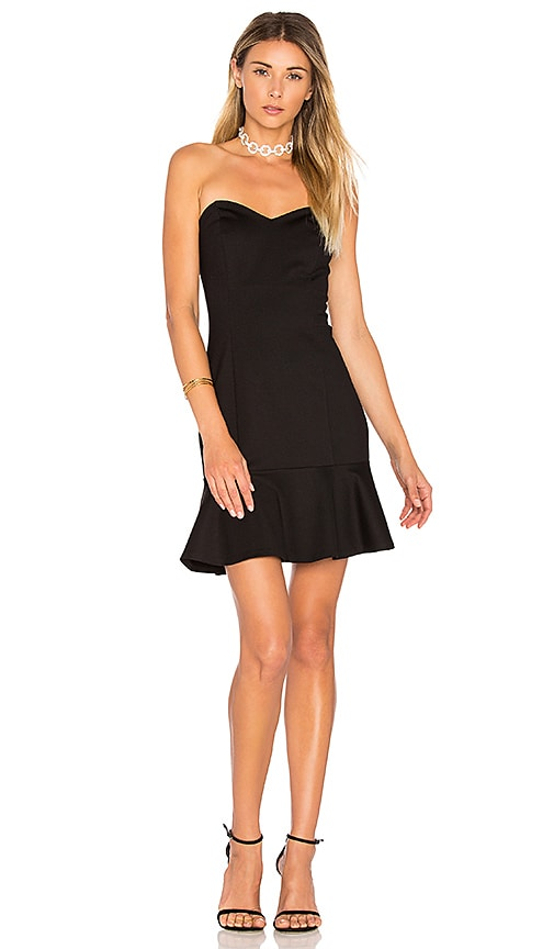 Amanda Uprichard Rocky Dress in Black