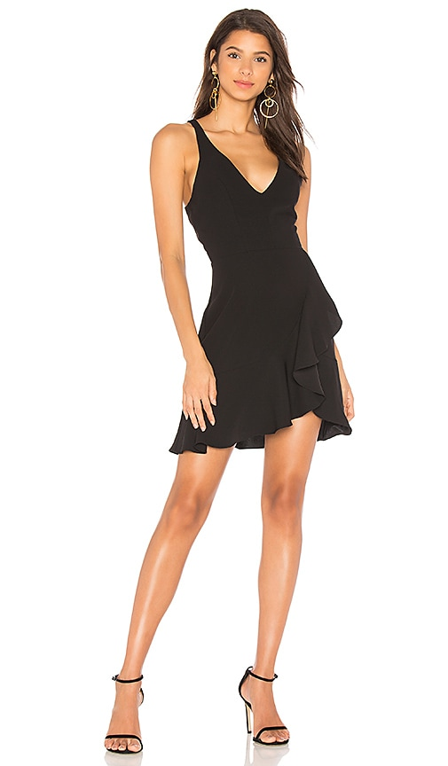 Amanda Uprichard Nicco Dress in Black