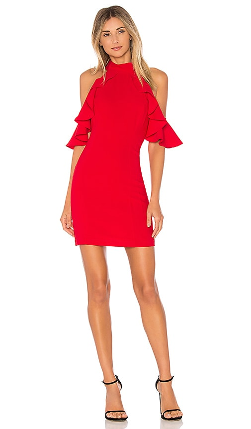 Amanda Uprichard Haven Dress in Red