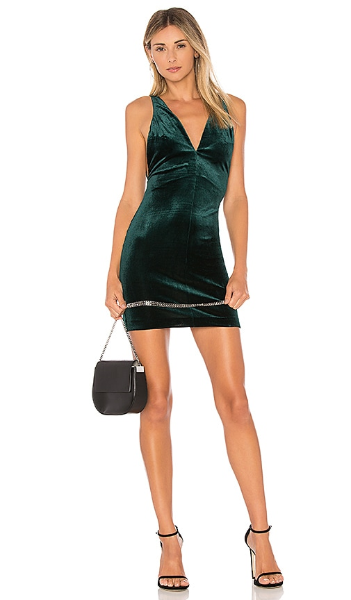 Velvet Portsmouth Dress in Green. - size M (also in L,S,XS) Amanda Uprichard