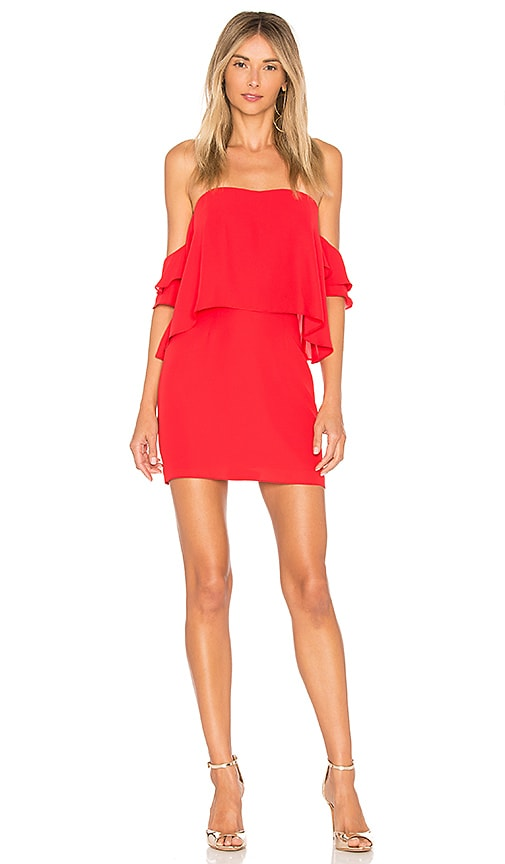 Amanda Uprichard Brentwood Dress in Red
