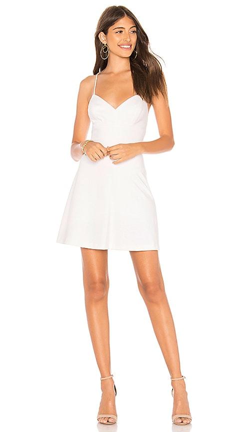 Amanda Uprichard Toni Dress in White