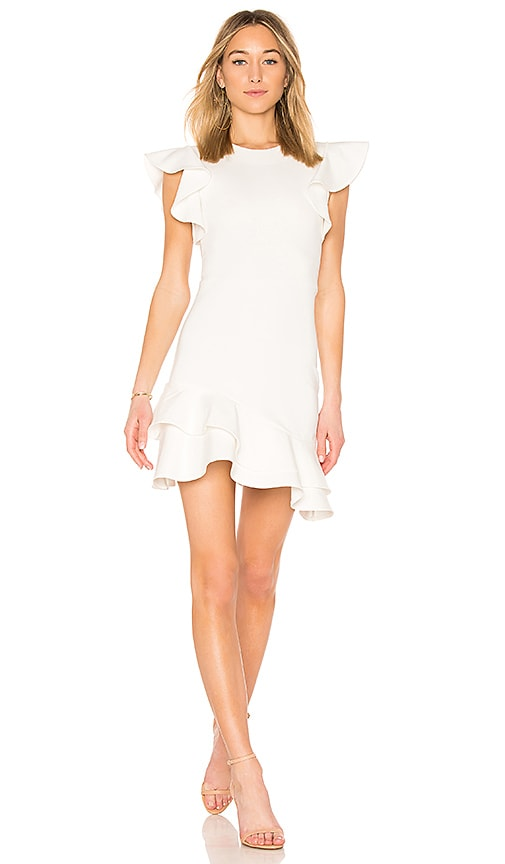 Amanda Uprichard Eclipse Dress in White