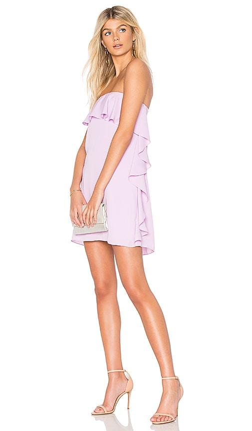Amanda Uprichard Tally Dress in Purple