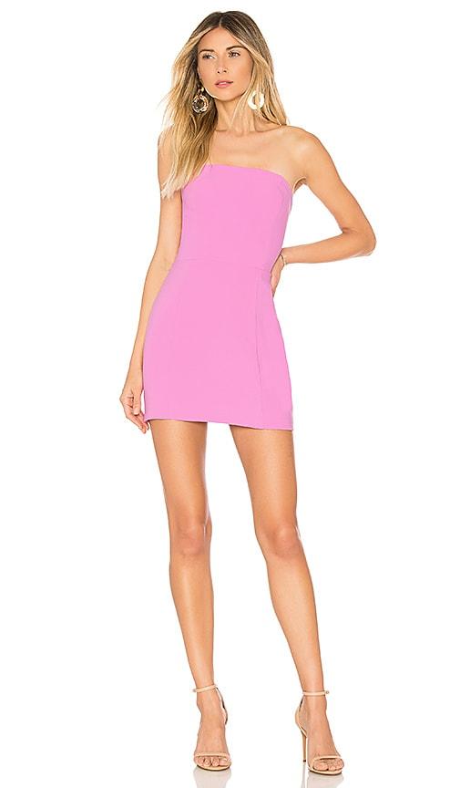 Amanda Uprichard X REVOLVE Mandy Dress in Pink