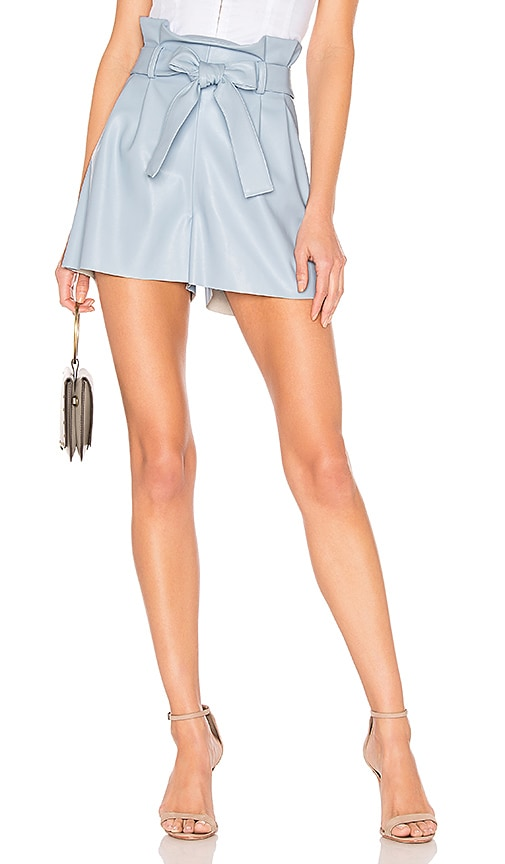 Tessi Faux Leather Shorts