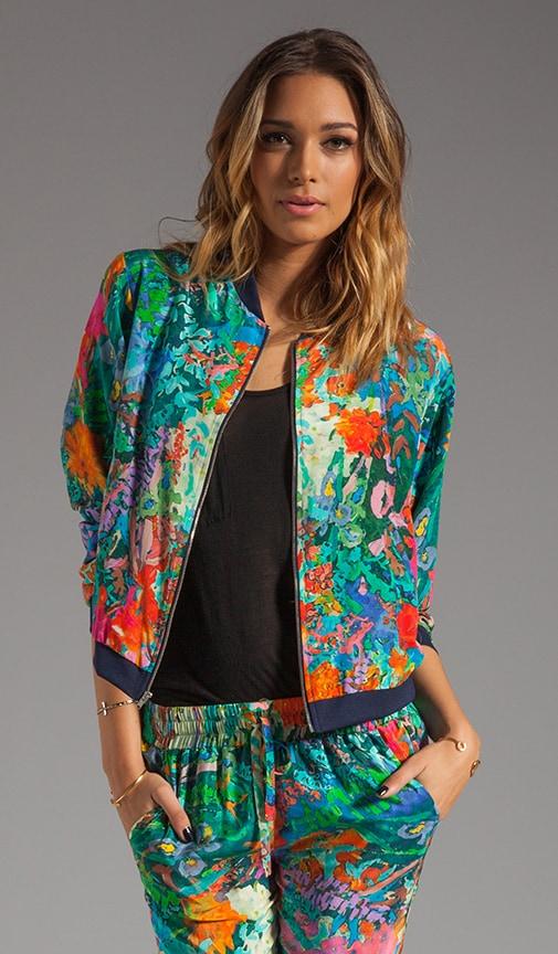 Silk Track Jacket