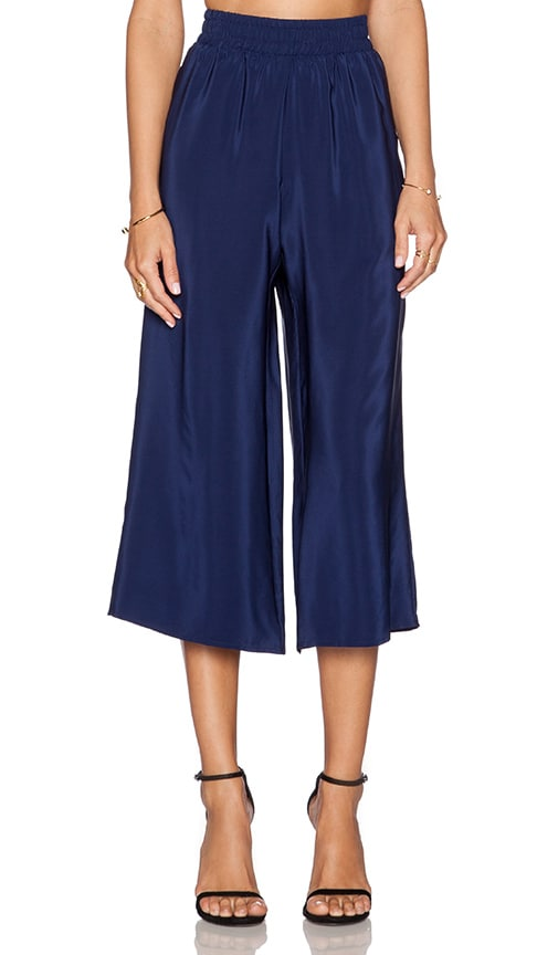 Cropped Wide Leg Pant