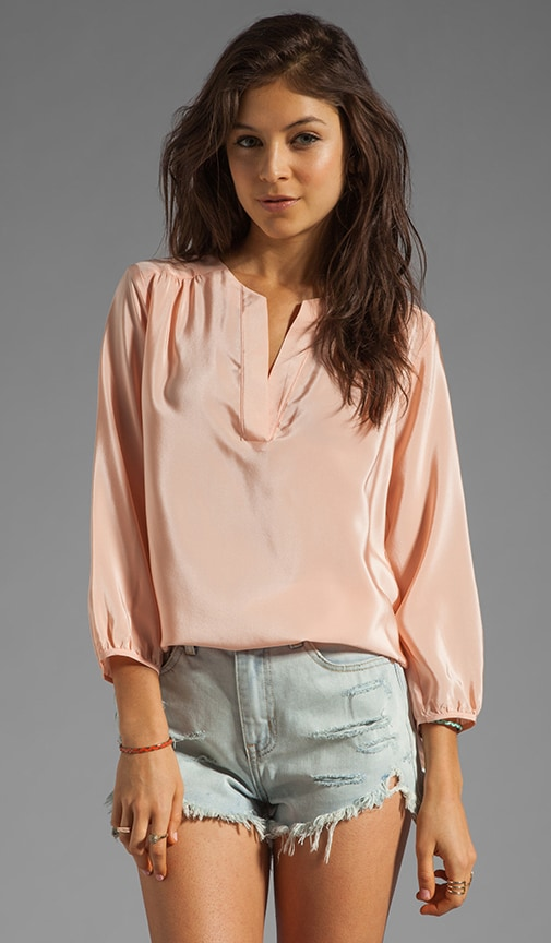 Silk Highliner Blouse