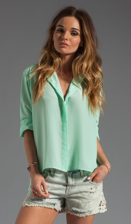 Silk Hi-low Blouse