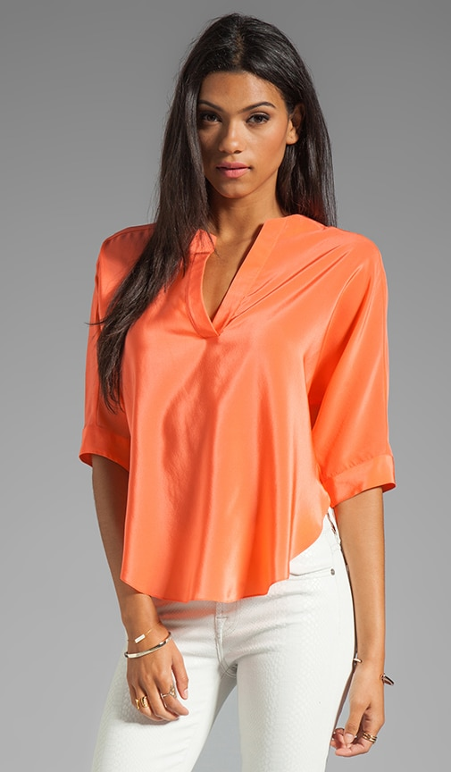 Silk Dolman Shirt